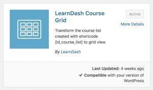 Comment utiliser et personnaliser la grille de cours LearnDash