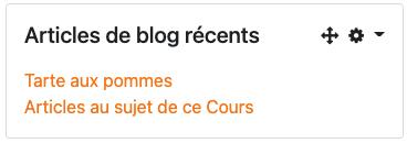 articles de blog récents